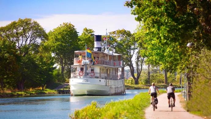Välkommen till ett föredrag om Göta Kanal